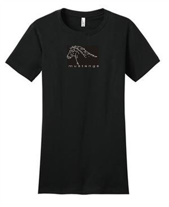Picture of CinDay Academy Rhinestone Horse  T-Shirt 29M/DT5000/29LS/18000/18500