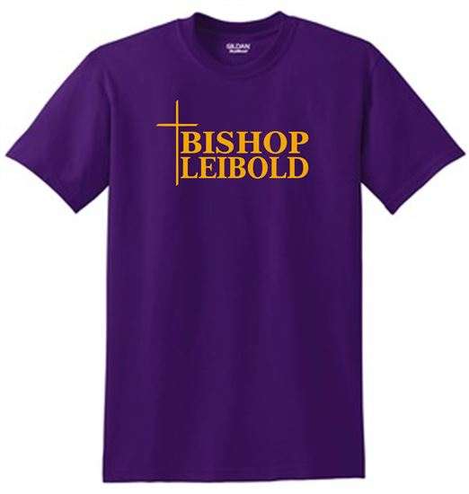 Picture of Bishop Leibold Cross (Gold)  Glitter  Logo 8000,  DM1350L, 29LS,  562M, 996M