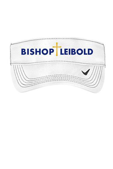 Picture of Bishop Leibold Nike Visor by Sanmar 429466 - White