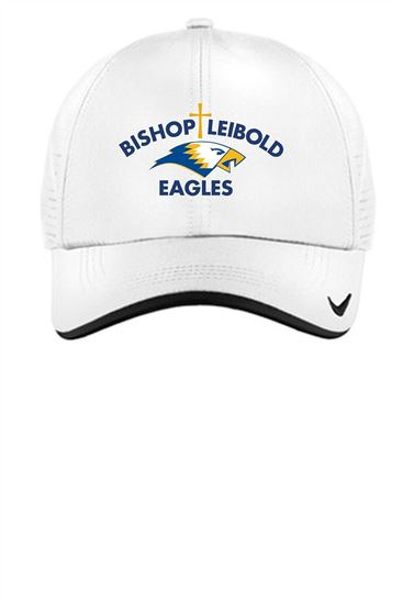Picture of Bishop Leibold Nike Ball Cap by Sanmar 429467 - White