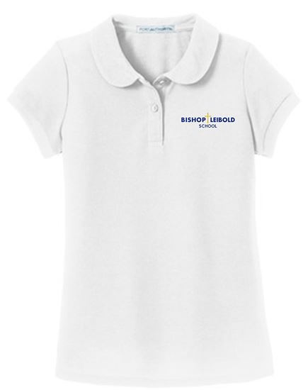 Picture of Bishop Leibold Youth Girls Uniform Polo YG503