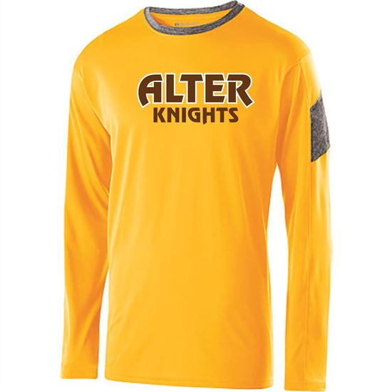 Picture of Alter Electron Long Sleeve Tee by Holloway 222527