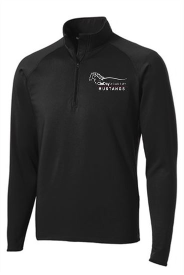 Picture of CinDay Academy Unisex 1/4 Zip Pullover - Sport Tek  ST850
