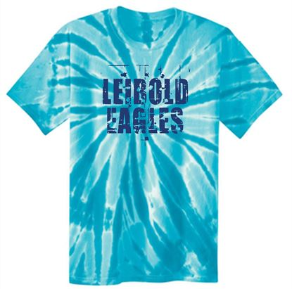 Picture of Bishop Leibold Eagles Tie Dye Tee PC147/PC147LS/PC148