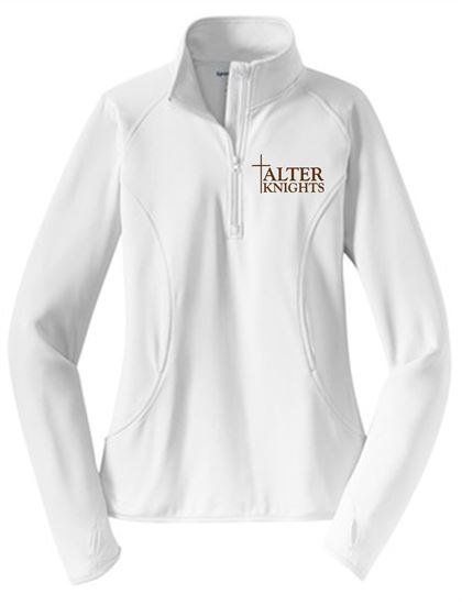 Picture of Alter Ladies Wicking 1/4 Zip Pullover by Sport Tek LST850
