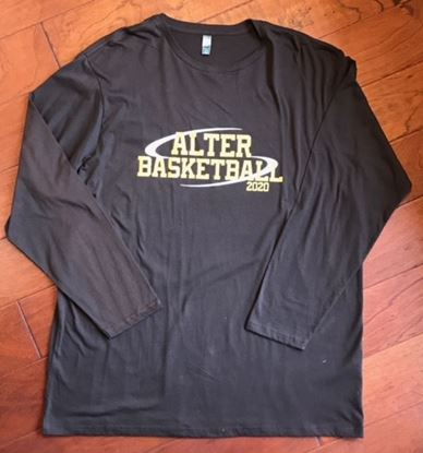 Picture of Alter Basketball 2020 District Made Soft Cotton  Long Sleeve Tee