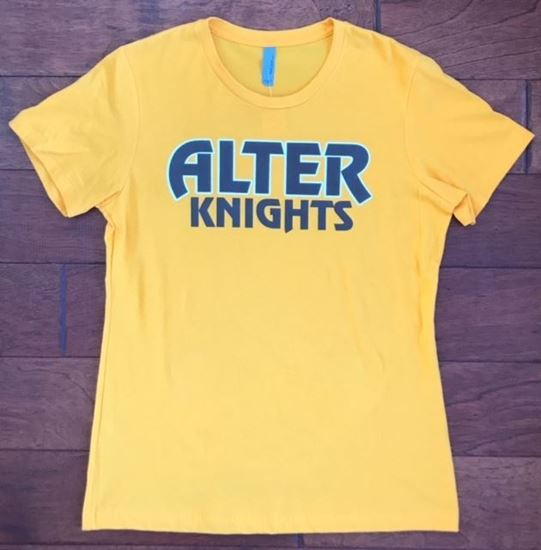 Picture of Alter Knights Next Level Soft Cotton Ladies Tee, Faith Pride Spirit on Back