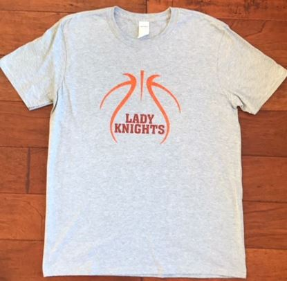 Picture of Alter Lady Knights Basketball Gildan Softstyle Ring Spun Tee