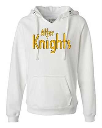 Picture of Alter Knights Ladies V-Neck Hoodie by J. America 8836