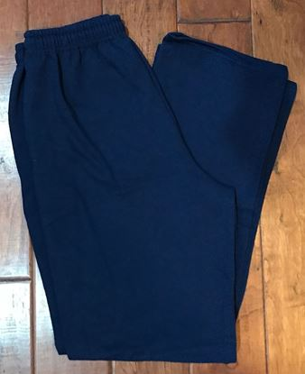 Picture of Bishop Leibold Adult Navy Sweatpants Jerzees, All Sales Final