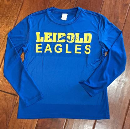Picture of Bishop Leibold Eagles Youth Sport Tek Dry Fit Long Sleeve Shirt