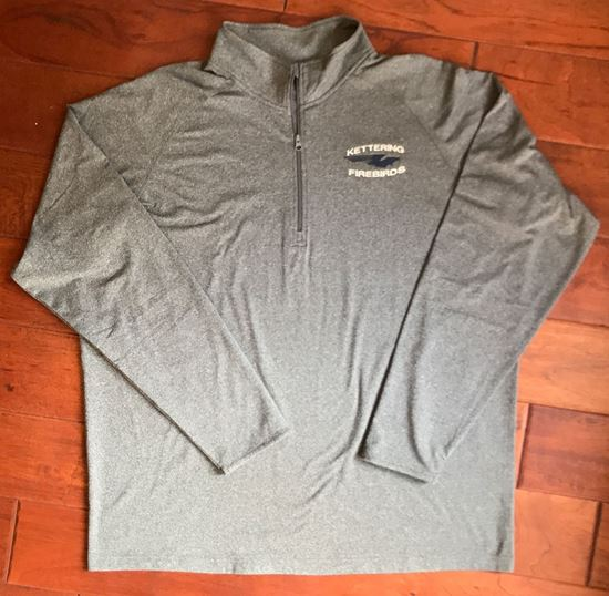 Picture of Kettering Firebirds Sport-Tek, Dry-Fit,  1/4 Zip Pullover