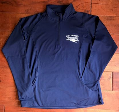 Picture of Kettering Firebirds Sport-Tek, Dry-Fit, Ladies 1/4 Zip Pullover
