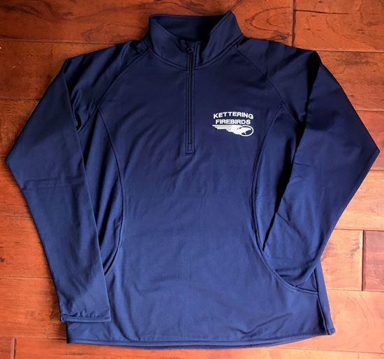 Picture of Kettering Firebirds Sport-Tek, Dry-Fit, Ladies 1/4 Zip Pullover