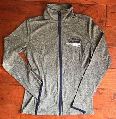 Picture of Kettering Firebirds Ladies Sport-Tek, Dry-Fit, Full Zip Pullover