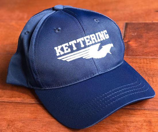 Picture of Kettering Firebirds Youth Navy Blue Sport-Tek Dry Zone Nylon Cap ONLY 2 LEFT!!