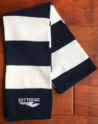 Picture of Kettering Firebirds Sportsman Rugby Striped Knit Scarf ONLY 3 LEFT!!