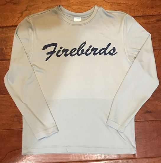 Picture of Kettering Firebirds Youth Sport-Tek Dry-Fit Long Sleeve Shirt