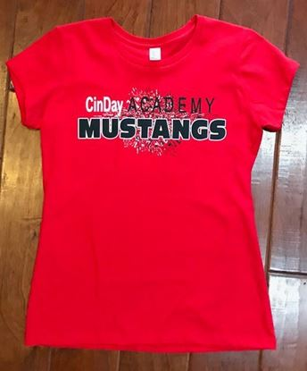 Picture of CinDay Academy District Tee, Ladies
