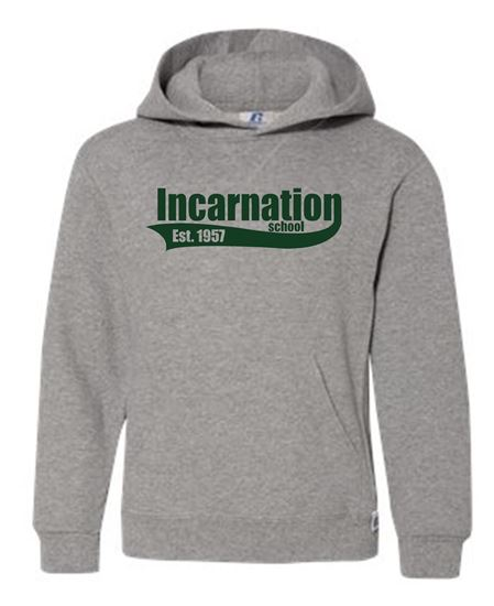 Picture of Incarnation  PRE4 - 6th Grade Hoodie by Russell 995HBB/695HBM