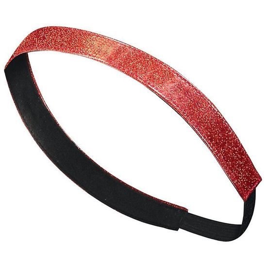 Picture of CinDay Academy Glitter Headband by Augusta 6703 - Black or Red