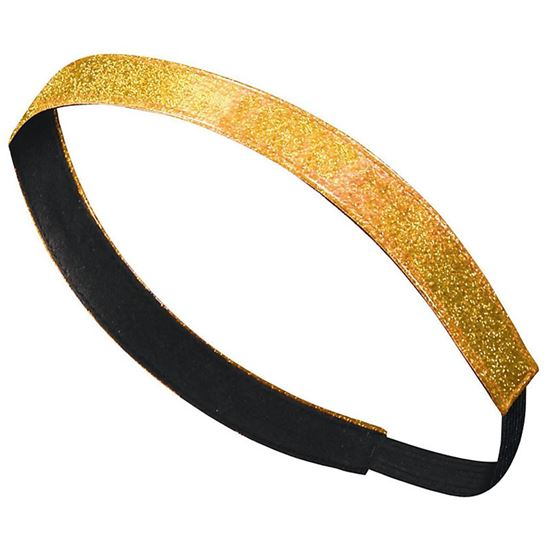 Picture of Incarnation Gold Glitter Headband by Augusta 6703 - Gold