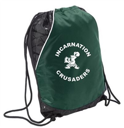 Picture of Incarnation Cinch Bag bySport-Tek BST600 - Forest Green