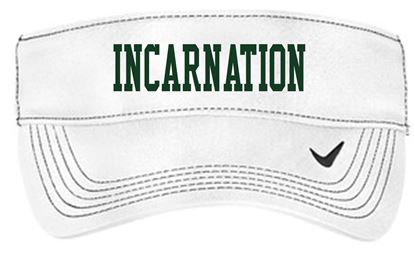Picture of Incarnation Nike Dri-FIT Swoosh Visor 429466 - White