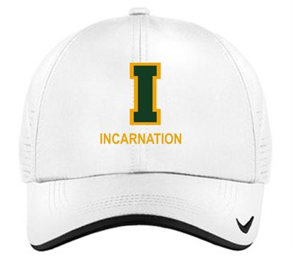 Picture of Incarnation Nike Dri-FIT Swoosh Perforated Cap  429467 - White