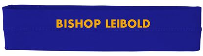 Picture of Bishop Leibold Sport Headband by All Sport W7000 - Royal, Gold or White