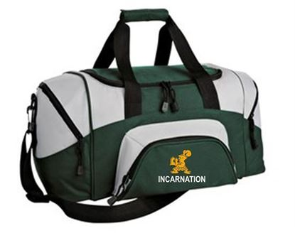 Picture of Incarnation All Sport Small Duffel by Port Authority BG990S - Hunter/Grey