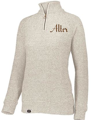 Picture of Alter Ladies Cuddly 1/4 Zip by Holloway 222766