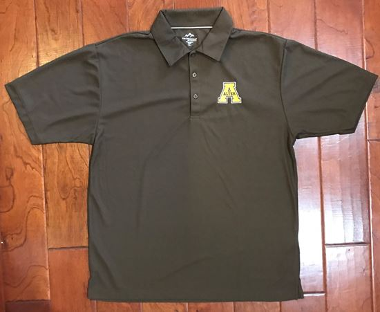 Picture of Alter Uniform Brown Dri-Fit Polo by Tri-Mountain