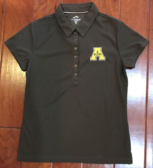 Picture of Alter Uniform Brown Ladies Dri-Fit Polo by Tri-Mountain