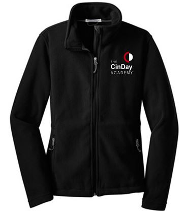 Picture of CinDay Academy Ladies Fleece Jacket - Full Zip by Port Authority L217