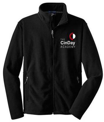 Picture of CinDay Academy Unisex Fleece Jacket - Full Zip by Port Authority F217