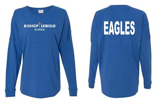 Picture of Bishop Leibold School/Eagles on Back Unisex Game Day Jersey by J. America 8229