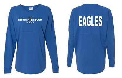 Picture of Bishop Leibold School/Eagles on Back Youth Game Day Jersey by J. America 8219