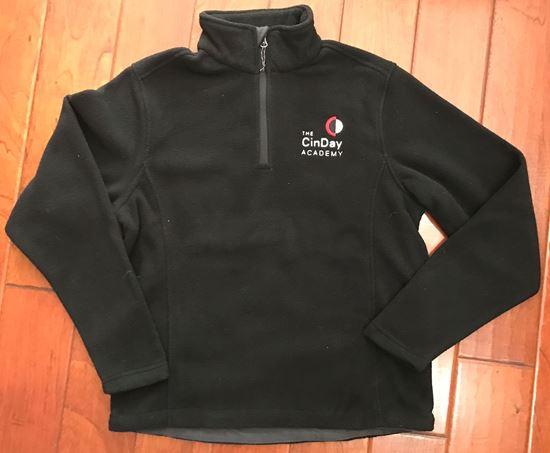 Picture of CinDay Academy Unisex Fleece Jacket - 1/4 Zip by Port Authority F218