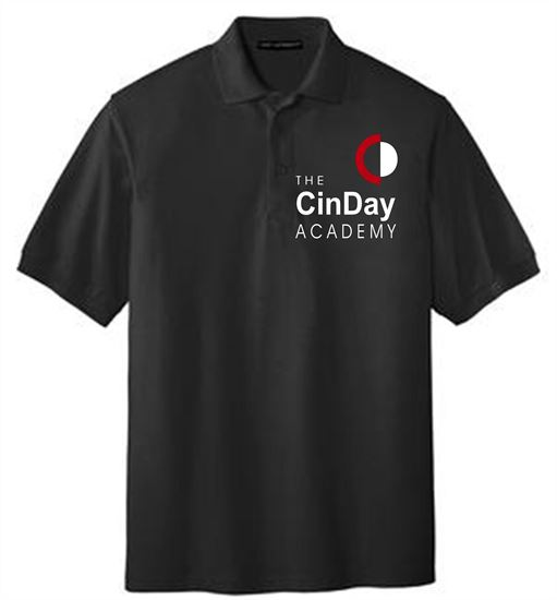 Picture of CinDay Academy Ladies Short Sleeve Uniform Polo by Port Authority L500