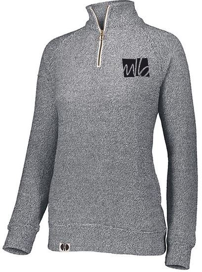 Picture of McGohan Brabender Ladies Cuddly 1/4 Zip by Holloway 222766
