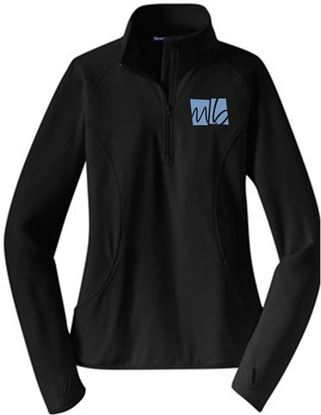 Picture of McGohan Brabender Ladies Wicking 1/4 Zip Pullover by Sport Tek LST850