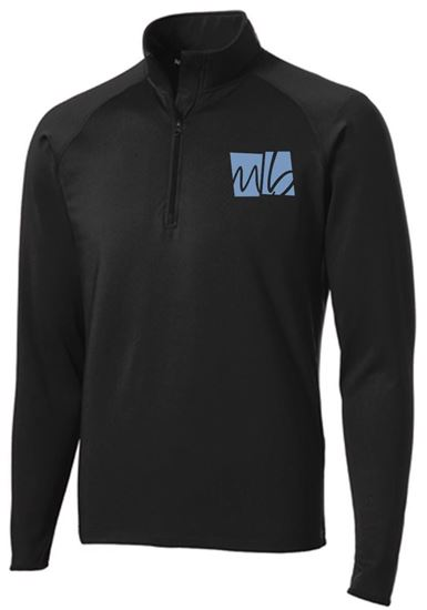 Picture of McGohan Brabender Unisex 1/4 Zip Pullover by Sport Tek ST850