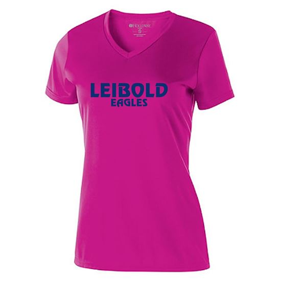 Picture of Bishop Leibold Ladies Pink Faith-Pride-Spirit by Holloway