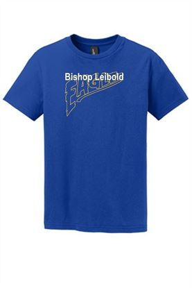 Picture of Bishop Leibold Eagles Text Unisex Short Sleeve T-shirt by Jerzees 29M