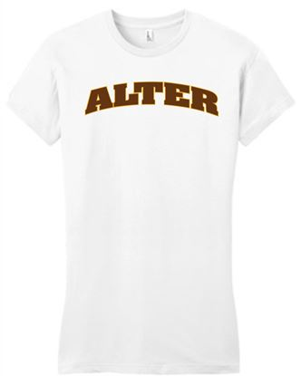 Picture of Alter 2 Color Arch Tee - Very Important Tee by Disctrict DT6000