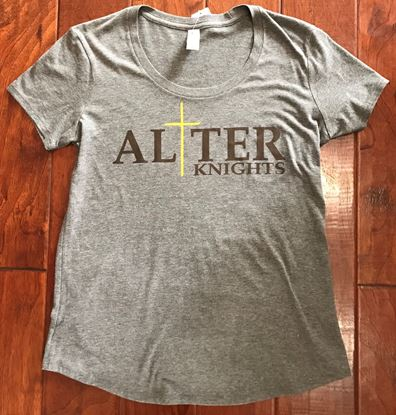 Picture of 50% OFF! Alter Ladies Cross Logo VIT by District Fitted DT6401