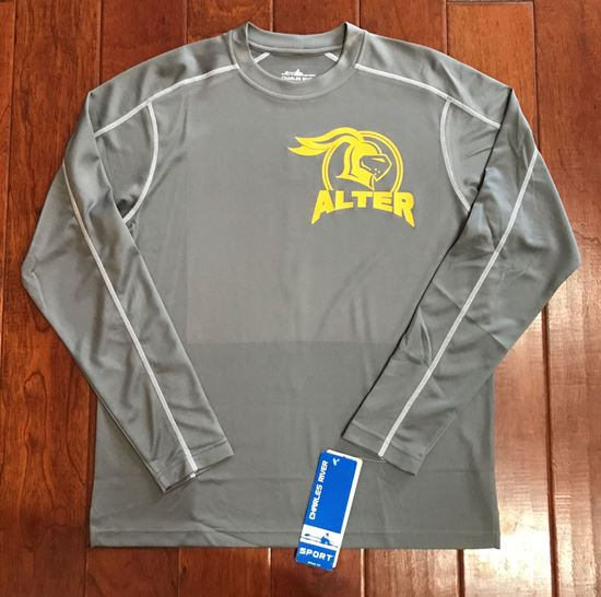 Picture of Alter Knights Long Sleeve Wicking Tee by Charles River 3137