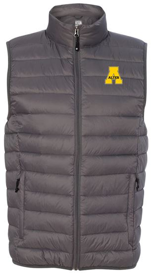 Picture of Alter Unisex  32 Degrees Packable Down Vest by Weatherproof 16700 - Dark Pewter