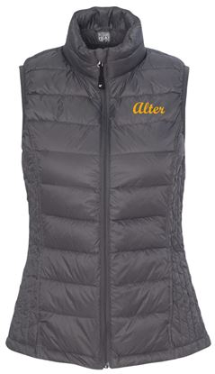 Picture of Alter Women's  32 Degrees Packable Down Vest by Weatherproof 16700W - Dark Pewter